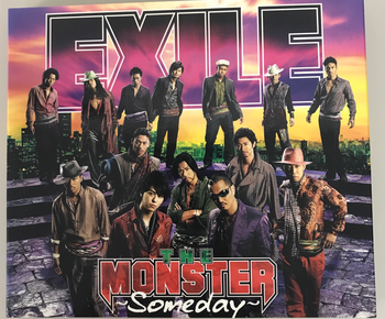 RZ CD / エグザイル  MONSTER  〜Someday〜