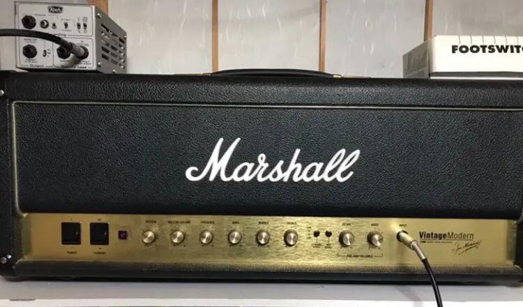 marshall vintage modern 2466 100w soundmart. Black Bedroom Furniture Sets. Home Design Ideas