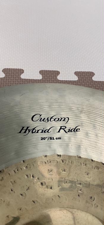 zildjian / k custom hybrid RIDE 20""