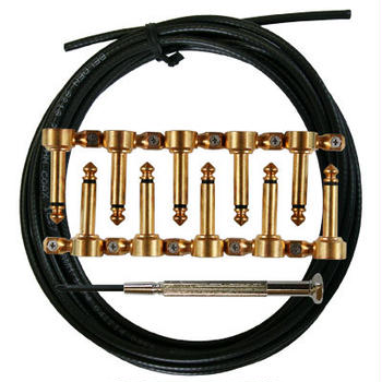 "Montreux / Premium Cable """"Arena Ace Right angle Brass plug kit"""""