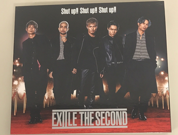 RZCD / EXILE THE SECOND  Shut  up!!  Shut up!! Shut up!!