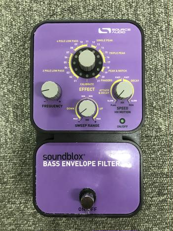 SOURCE AUDIO / SA126 Bass Envelope Filter(作動しない)  C0207