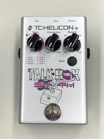 TC HELICON (ティーシーヘリコン) / Talkbox Synth C366