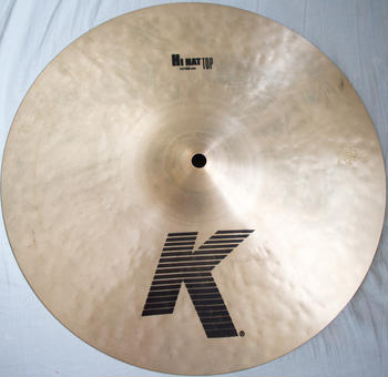 "ZILDJIAN (ジルジャン) / ZILDJIAN 14"" K HI HAT Top"