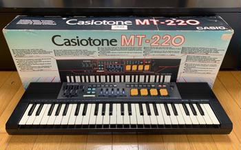 CASIO (カシオ) / Casiotone MT-220