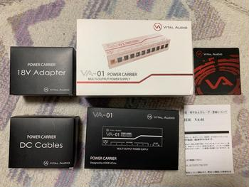 Vital Audio / Vital Audio POWER CARRIER VA-01 【付属品完備】